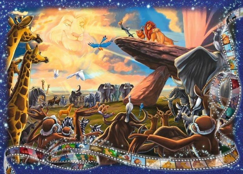 Puzzle 1000 Ravensburger 197477 Król Lew