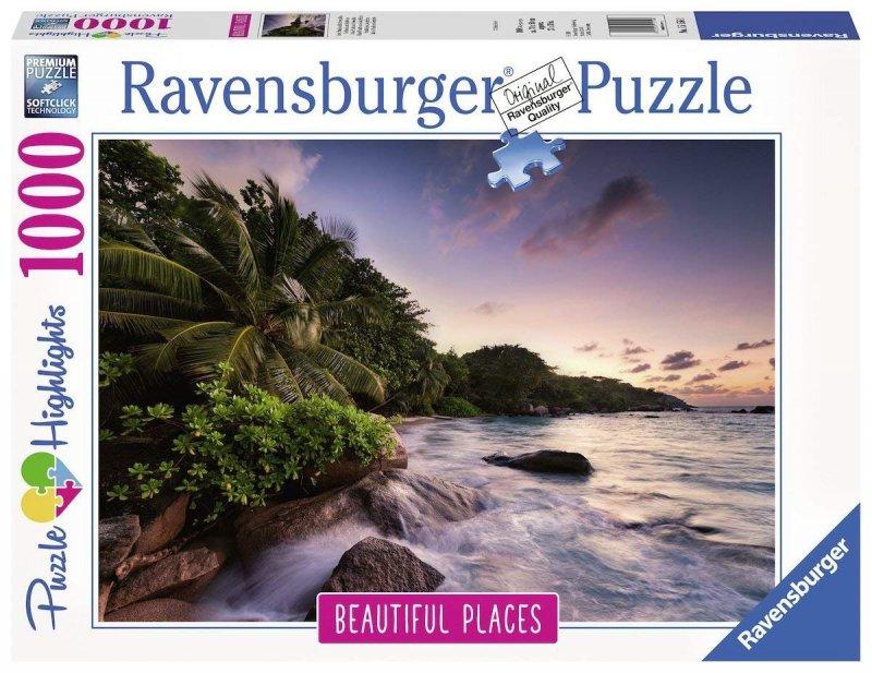 Puzzle 1000 Ravensburger 151561  Seszele - Wyspa Praslin