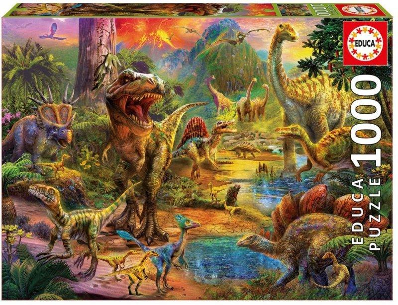Puzzle 1000 Educa 17655 Dinozaury