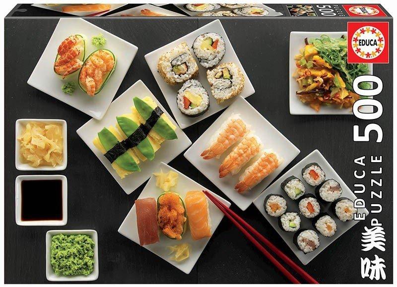 Puzzle 500 Educa 17986 Sushi
