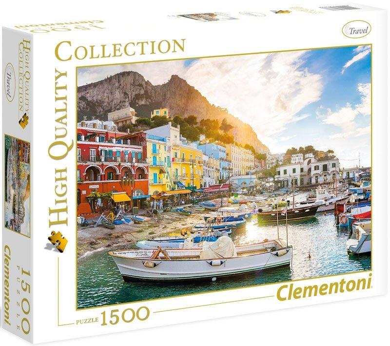Puzzle 1500 Clementoni 31678 Capri