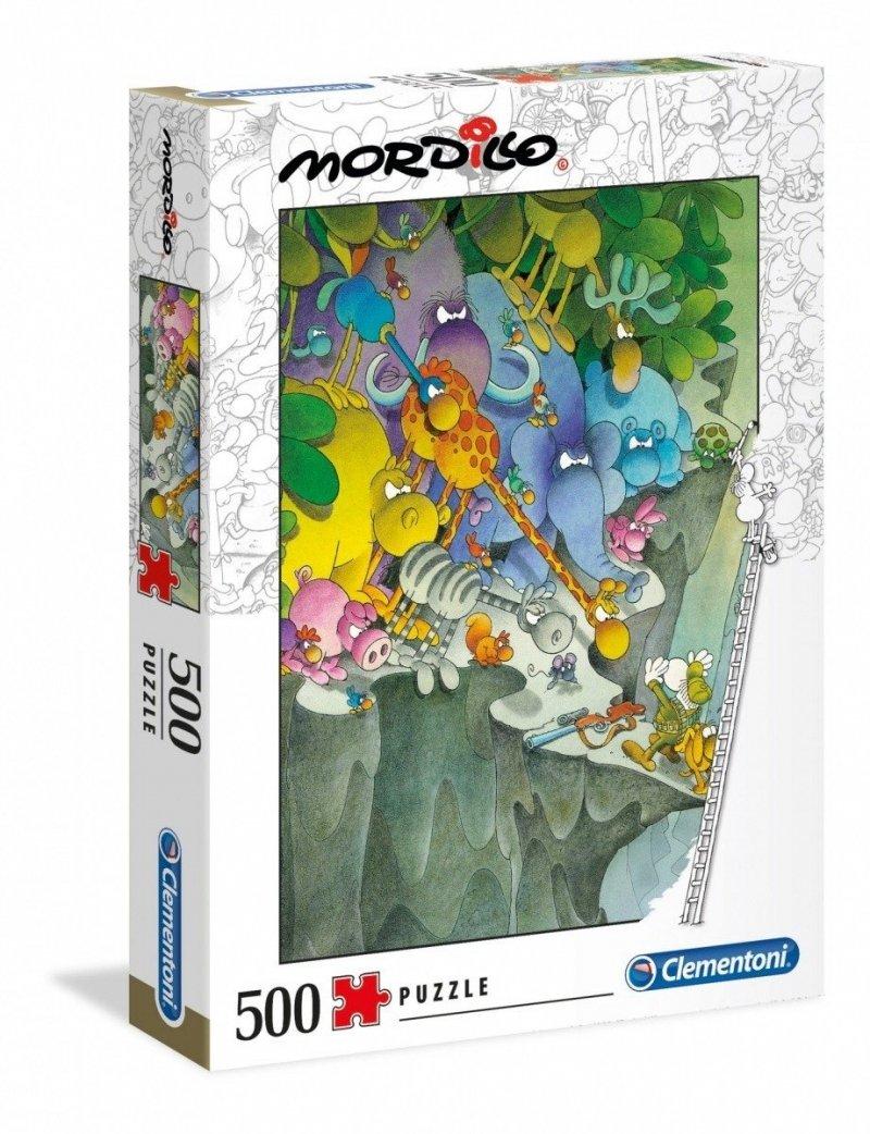Puzzle 500 Clementoni 35080 Mordillo The Surrender