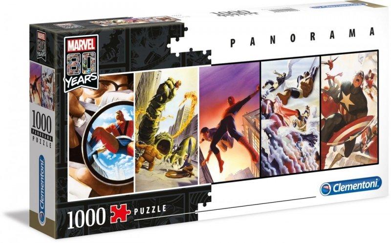 Puzzle 1000 Clementoni 39546 Panorama - Marvel 80 Lat