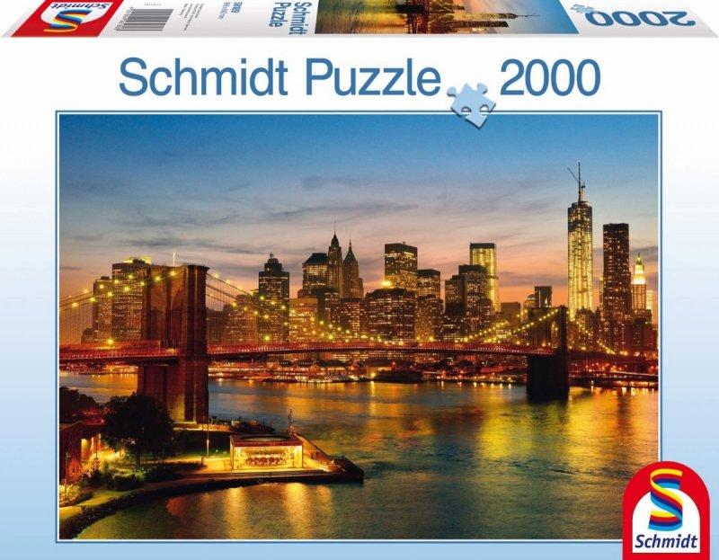 Puzzle 2000 Schmidt 58189 New York