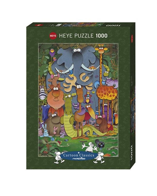 Puzzle 1000 Heye 29284 Teile Photo - Guillermo Mordillo