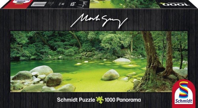 Puzzle 1000 Schmidt 59286 Mossman Gorge - Australia - Mark Gray Panorama