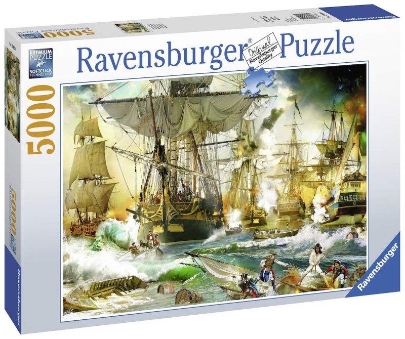 Puzzle 5000 Ravensburger 139699 Bitwa na Morzu