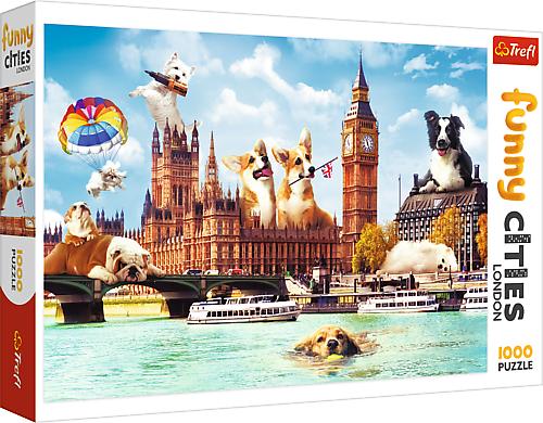 Puzzle 1000 Trefl 10596 Psy w Londynie