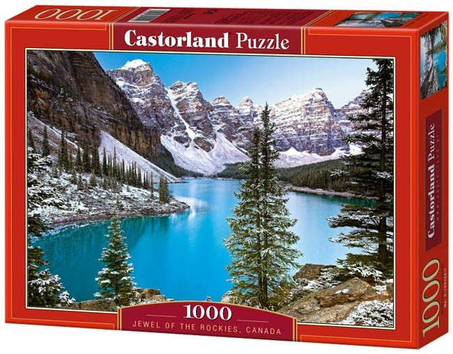 Puzzle 1000 Castorland C-102372 Jewel of the Rockies - Canada