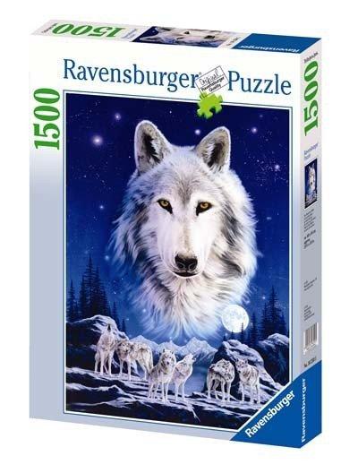 Puzzle 1500 Ravensburger 162505 Noc Białych Wilków