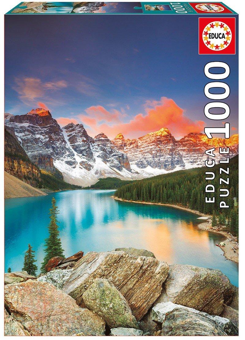 Puzzle 1000 Educa 17739 Jezioro Moraine Kanada