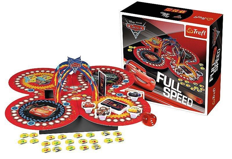 Gra Planszowa - Trefl - Full Speed - Cars 3 T-01489