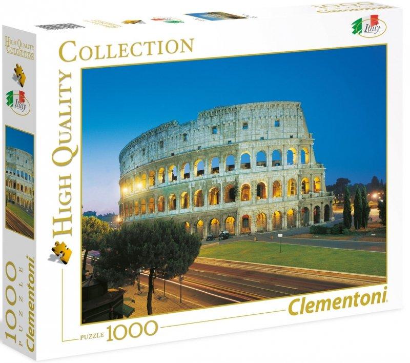 Puzzle 1000 Clementoni 39457 HQ Rzym - Koloseum