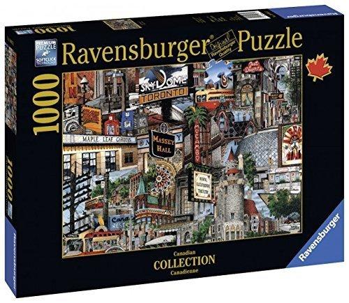 Puzzle 1000 Ravensburger 196852 Toronto - Kanada
