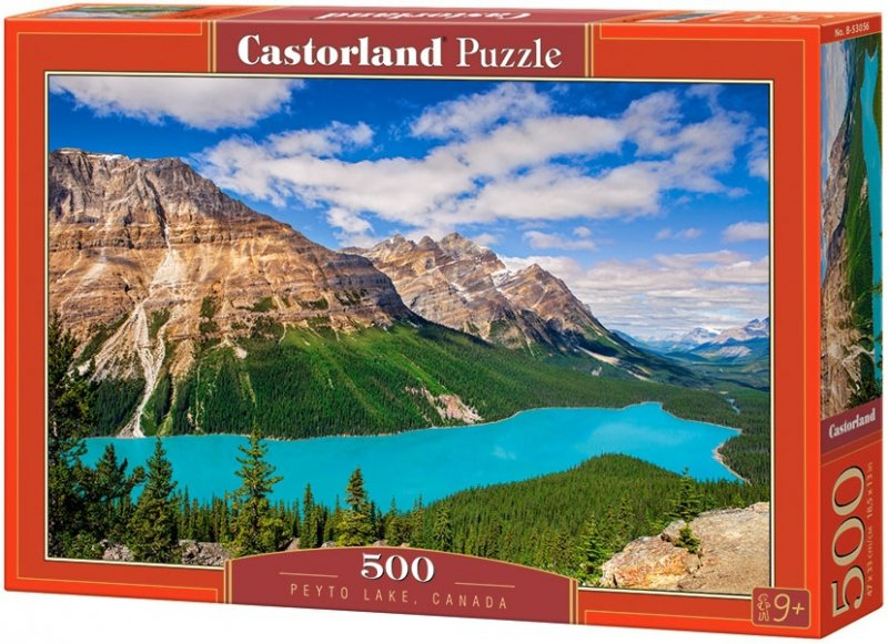 Puzzle 500 Castorland B-53056 Jezioro Peyto - Kanada