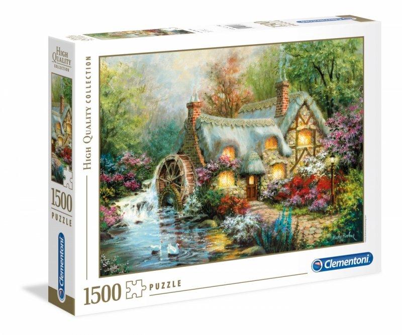 Puzzle 1500 Clementoni 31812 Młyn Wodny