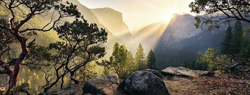 Puzzle 1000 Ravensburger 150830 Panorama - Park Yosemite