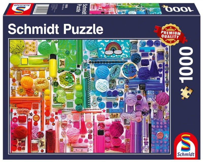 Puzzle 1000 Schmidt 58958 Kolory Tęczy