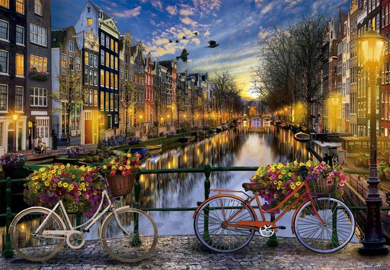 Puzzle 2000 Educa 17127 Amsterdam