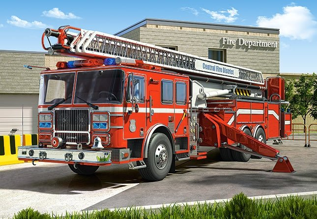 Puzzle 260 Castorland B-27040 Straż Pożarna