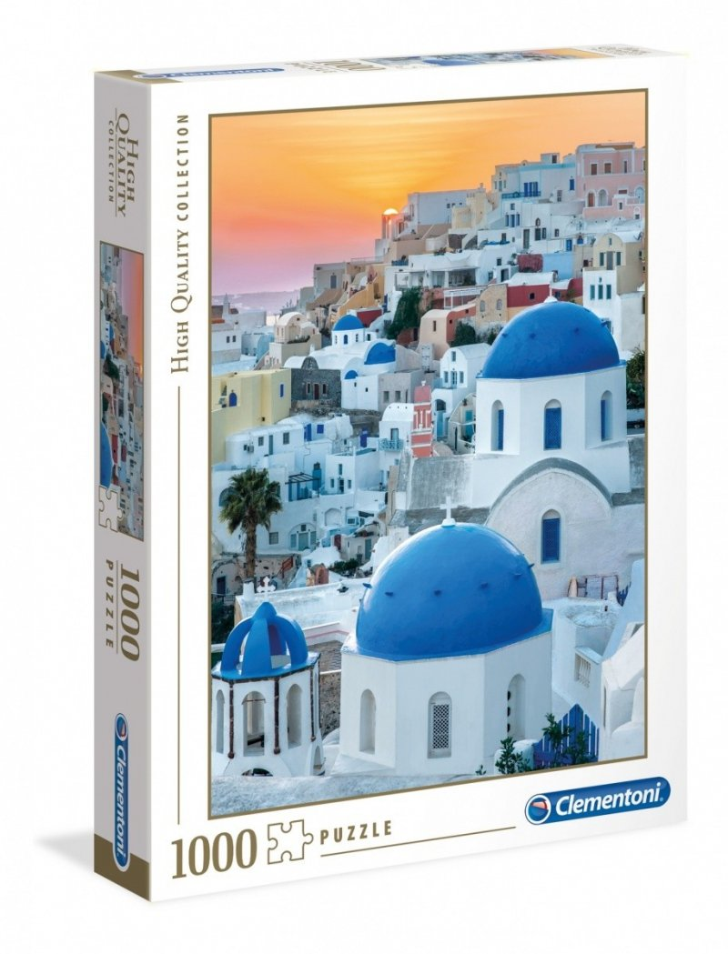 Puzzle 1000 Clementoni 39480 Santorini