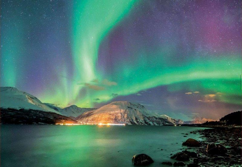 Puzzle 1000 Educa 17967 Aurora Borealis