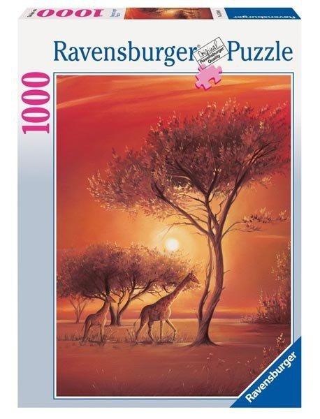 Puzzle 1000 Ravensburger 156948 Afryka