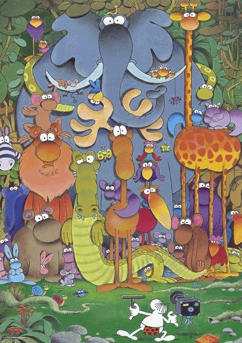 Puzzle 1000 Heye 29284 Teile Photo - Guillermo Mordillo