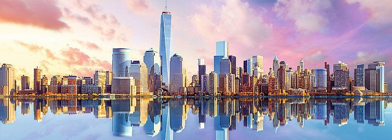 Puzzle 1000 Trefl 29033 Panorama - Manhattan