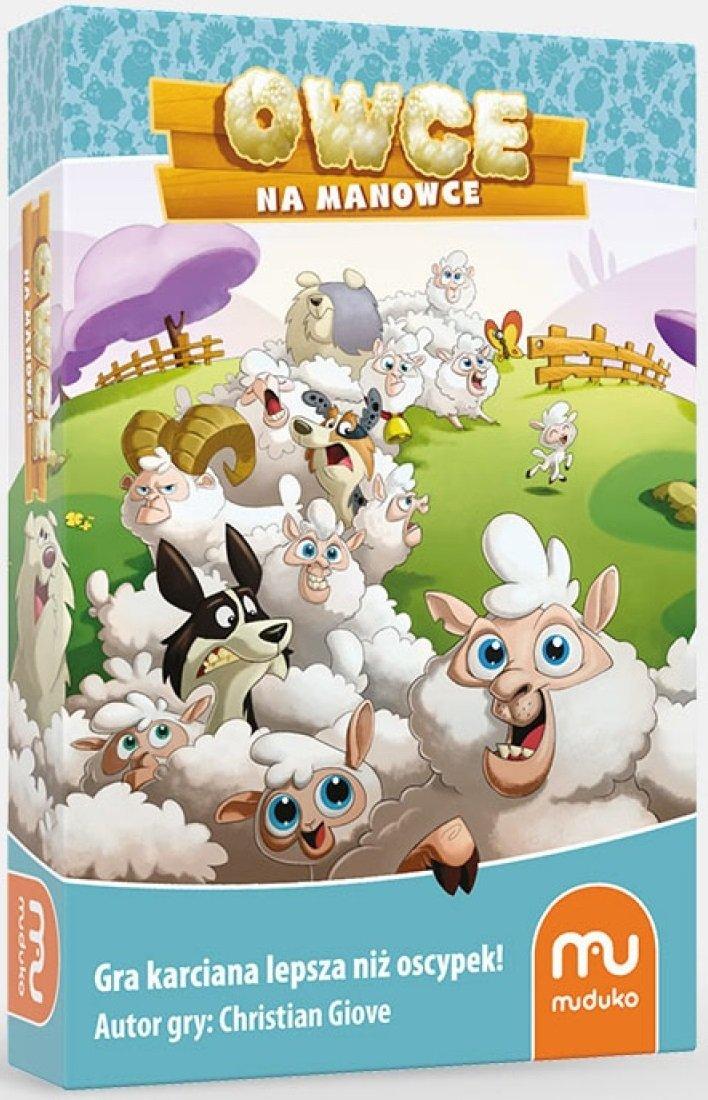 Gra Owce na Manowce - Muduko - Gra Karciana - Logiczna