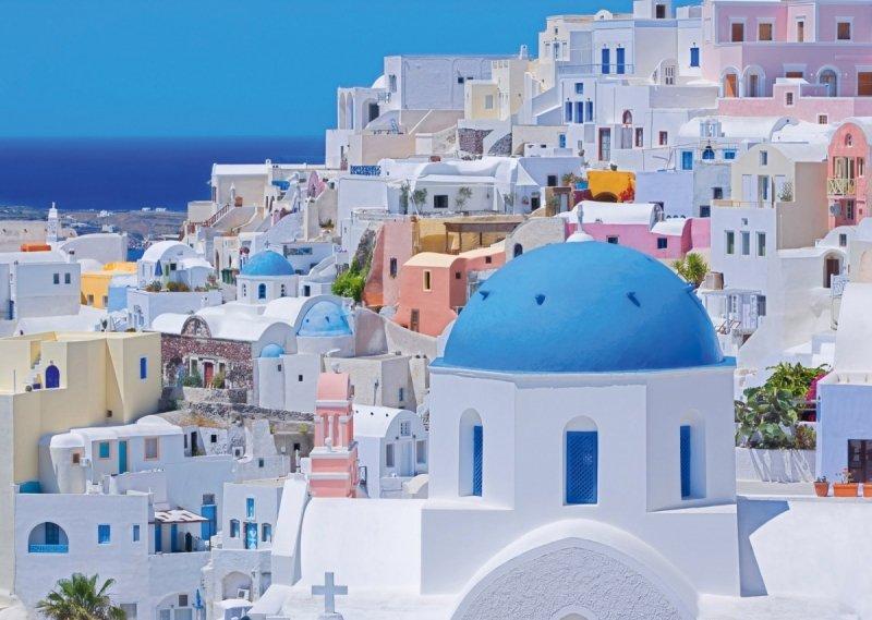 Puzzle 1000 Schmidt 58947 Santorini - Grecja