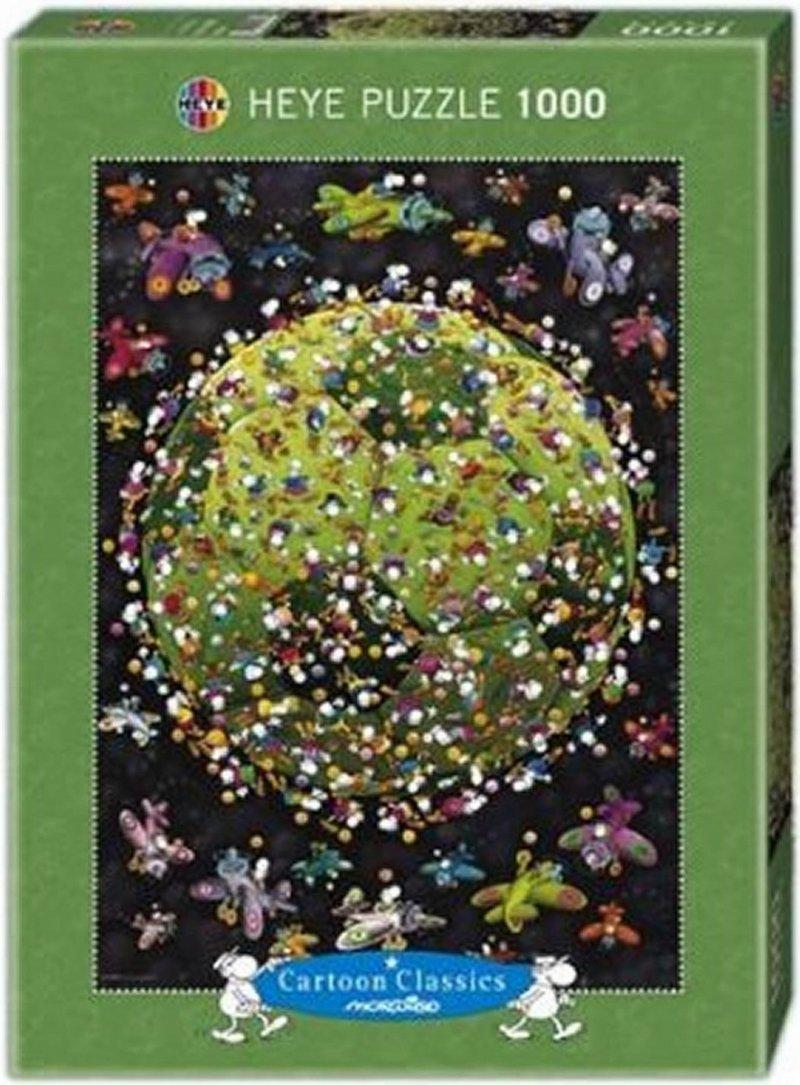 Puzzle 1000 Heye 29359 Football - Mordillo