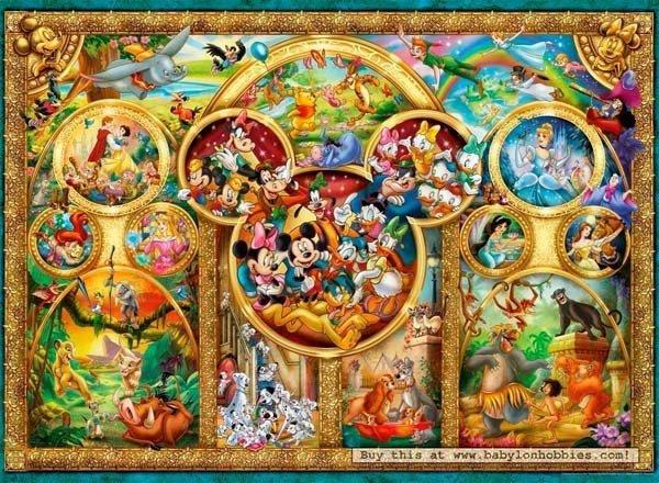 Puzzle 500 Ravensburger 141838 Najpiękniejsze Motywy