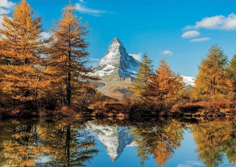 Puzzle 1000 Educa 17973 Góra Matterhorn Jesienią