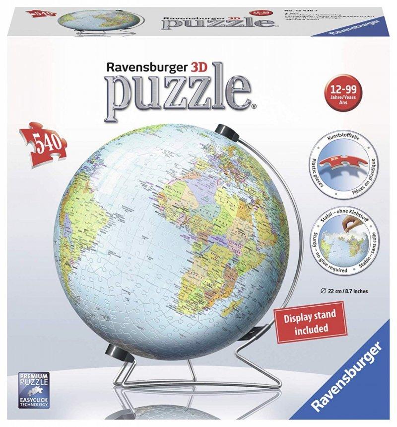 Puzzle 540 Ravensburger 124367 Kuliste - Kula Ziemska 3D