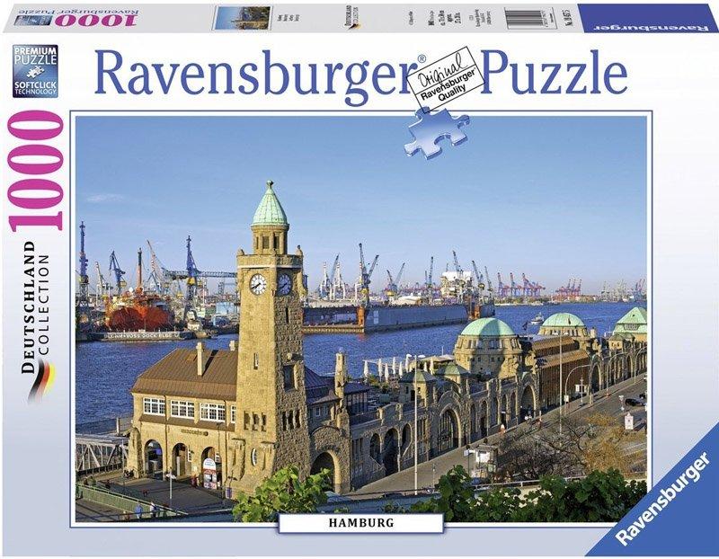Puzzle 1000 Ravensburger 194575 Hamburg