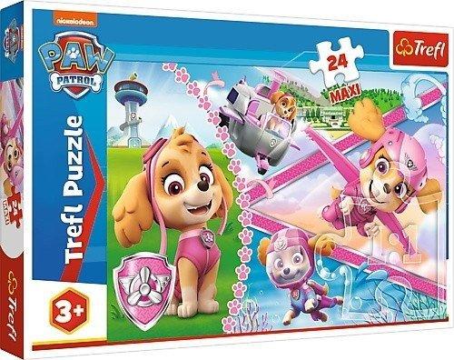 Puzzle 24 Maxi Trefl 14307 Psi Patrol - Bohaterska Skye