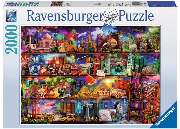 Puzzle 2000 Ravensburger 166855 Świat Książek