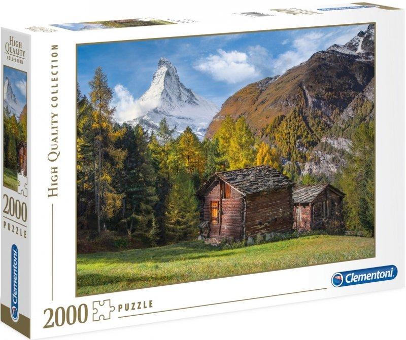 Puzzle 2000 Clementoni 32561 Fascynacja z Matterhorn