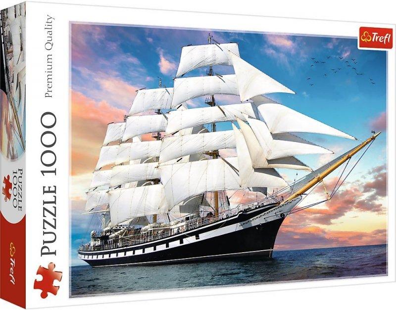 Puzzle 1000 Trefl 10604 Rejs - Żaglowiec