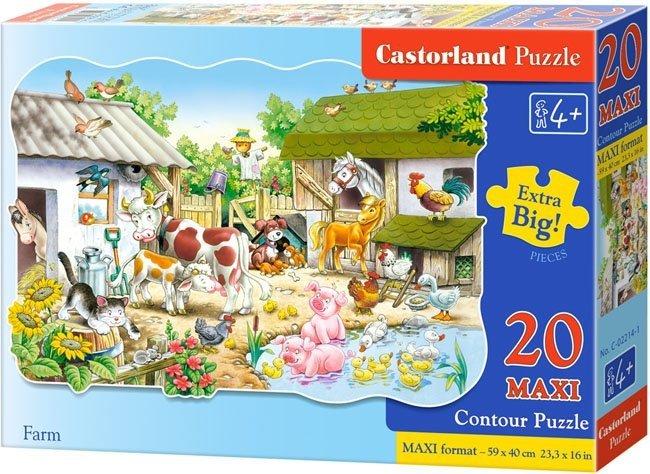 Puzzle 20 Maxi Castorland C-02214 Farma
