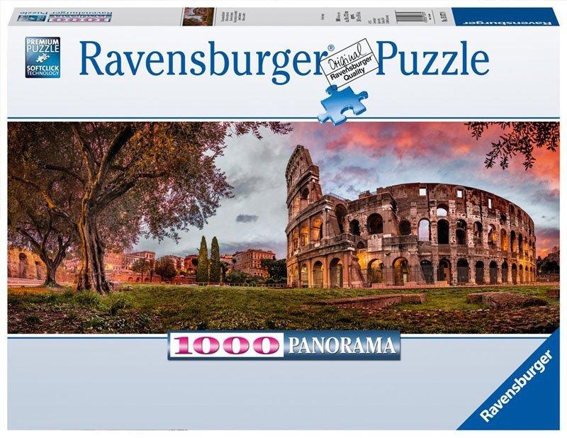 Puzzle 1000 Ravensburger 150779 Koloseum - Rzym - Panorama