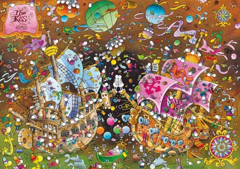 Puzzle 6000 Clementoni 36527 Mordillo - The Kiss