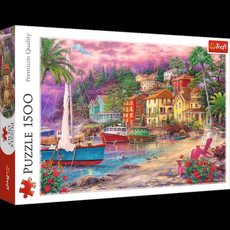 Puzzle 1500 Trefl 26158 Na Złotych Brzegach