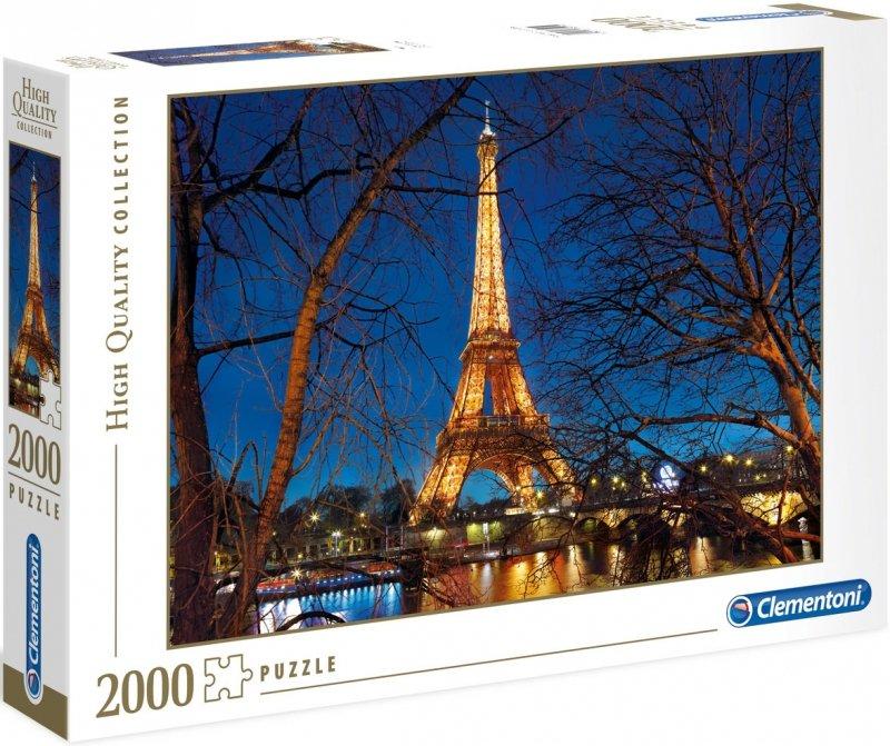 Puzzle 2000 Clementoni 32554 Wieża Eiffla - Paryż
