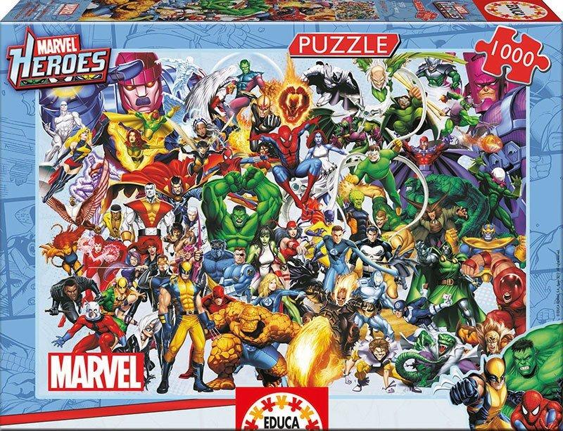 Puzzle 1000 Educa 15193 Marvel - Losy Bohaterów