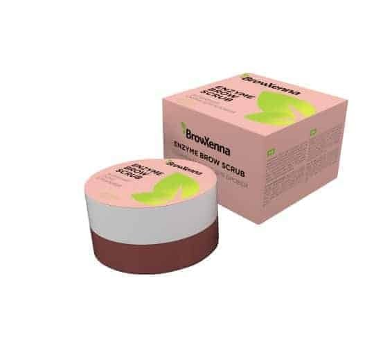 BrowXenna Enzymatyczny peeling do brwi 50g