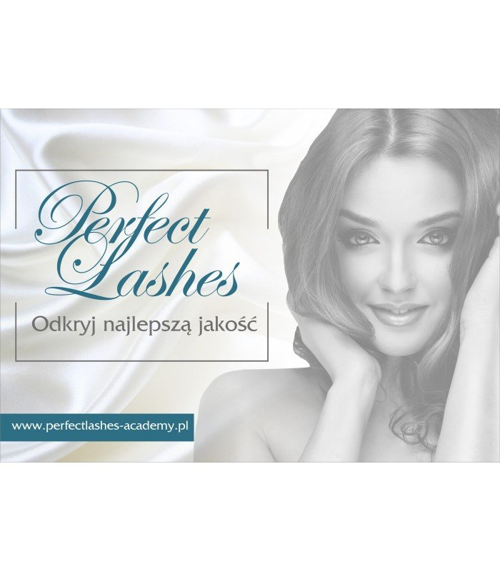 Plakat format A2 Perfect Lashes