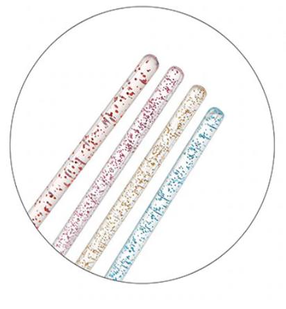 Brokatowe welurowe bezwłókienkowe aplikatory - 10szt