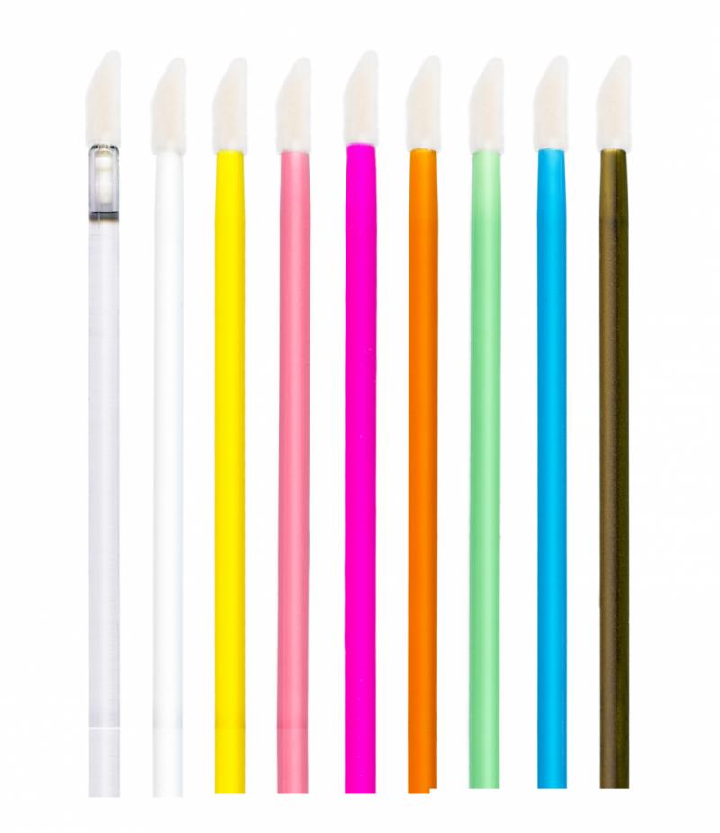 Aplikatory welurowe bezwłókienkowe - 10szt